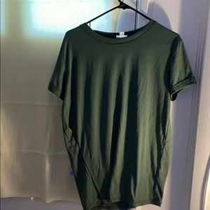 Lula roe olive green liv Large Good condition